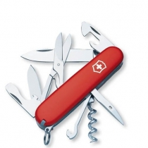 Нож карманный Victorinox Climber, 91мм, на 14 функций, красный