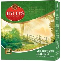 Чай Hyleys зелений 2г, 100шт, фільтр пакет