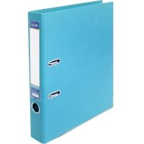 Папка-регистратор LUX, А4, 50мм, голубая