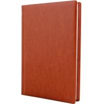Ежедневник полудатированный, А5, Nebraska, коричневый