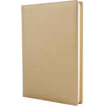 Щоденник напівдатований, А5, крем, Caprice, золото