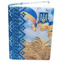 """Ежедневник недатированный, А5, """"Пшеница"""", кремовый блок, 8 цветов"""