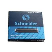 Патрони чорнильні Schneider  6 шт., чорні