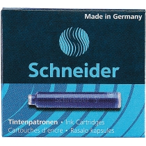 Патрони чорнильні Schneider  6 шт., сині