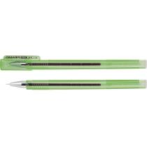 Ручка гелева Economix PIRAMID зелена