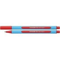Ручка масляная Schneider SLIDER EDGE F красная