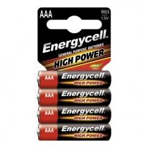 Батарейка ENERGYCELL ААА 4 штуки в упаковке