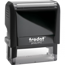 Оснастка для штампа TRODAT 4912 Р4, чорна