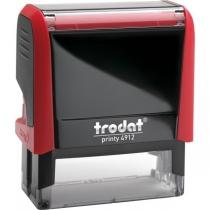 Оснастка для штампа TRODAT 4912 Р4, червона