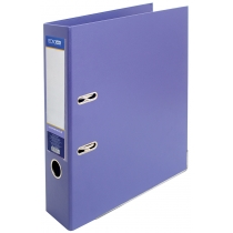 Папка-регистратор LUX А4 7см фиолетовая (собранная)