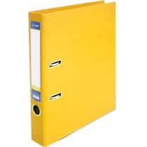 Папка-регистратор LUX А4 5см желтая (собранная)