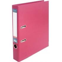 Папка-регистратор LUX А4 5см розовая (собранная)