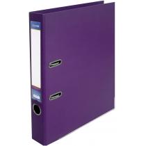 Папка-регистратор LUX А4 5см фиолетовая (собранная)