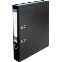 Папка-регистратор LUX А4 5см черная (собранная)