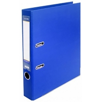Папка-реєстратор LUX А4 5см синя (зібрана)