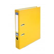 Папка-регистратор А4 5см желтая, (собранная)