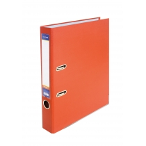 Папка-регистратор А4 5см оранжевая, (собранная)