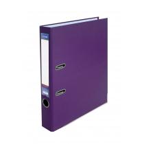 Папка-регистратор А4 5см фиолетовая (собранная)