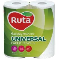 Полотенца бумажные 2 слоя Ruta Universal 2 рулона