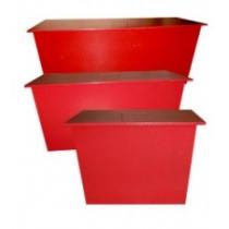 Ящик для песка стационарный 0,13м.куб
