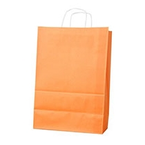 Пакет з ручками Ecobag розмір 400х180х390 мм оранжевий