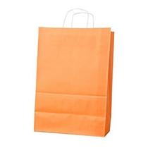 Пакет с ручками Ecobag размер 400х180х390 мм оранжевый