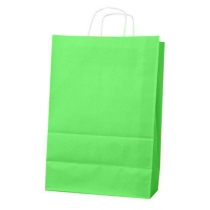 Пакет з ручками Ecobag розмір 400х180х390 мм світло-зелений