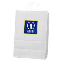 Пакет с ручками Ecobag размер размер 305х170х340 мм с лого