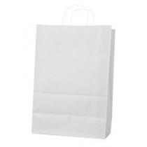 Пакет з ручками Ecobag розмір розмір  400х180х390 мм білий крафт