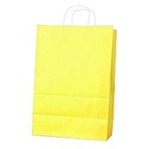 Пакет с ручками Ecobag размер 400х180х390 мм желтый