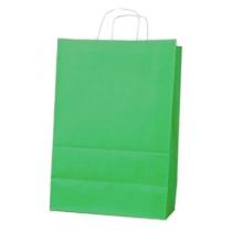 Пакет з ручками Ecobag розмір 305х170х340 мм зелений