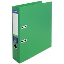 Папка-регистратор LUX 7 см, зеленая (собранная)