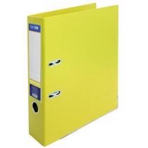 Папка-регистратор LUX А4 7 см желтая (собранная)
