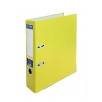 Папка-регистратор А4 7 см желтая, (собранная)