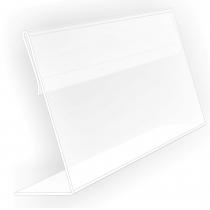 Підставка під друковану продукцію 210х150 мм, прозора