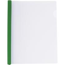 Папка А4 с планкой-зажимом 6 мм (2-35 листов), зеленый