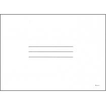 Журнал-пустографка форма А4 50 листов офсет горизонтальная