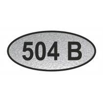 Номерок для дверей, размером 100х45 мм