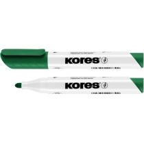 Маркер для білих дошок KORES 1-3 мм, зелений