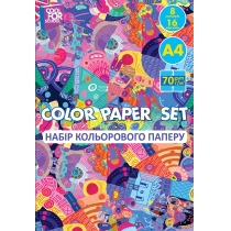Набор цветной бумаги