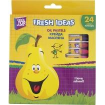 Мел масляная Fresh Ideas, 24 цвета
