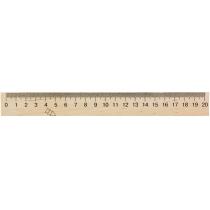 Лінійка дерев'яна, 20 см