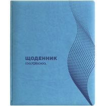 """Щоденник шкільний Vivella """"Хвиля"""", А5, 48 арк. бірюзовий"""