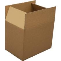Ящик картонний 445х345х450 мм, на чотири клапани