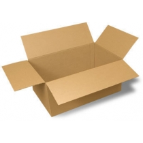 Ящик картонний 310х310х140 мм, на чотири клапани