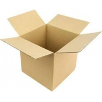 Ящик картонний 275х225х225 мм, на чотири клапани