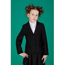 Жакет для девочки черный 9511-1 рост 128 см