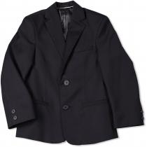 Пиджак для мальчика черный 316 32 размер рост 128 см