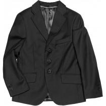 Пиджак для мальчика черный 205 размер 32 рост 128 см