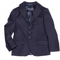 Пиджак для мальчика синий 205 36 размер рост 140 см